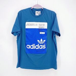 Men's Adidas Pantone Tee in Blanch Blue